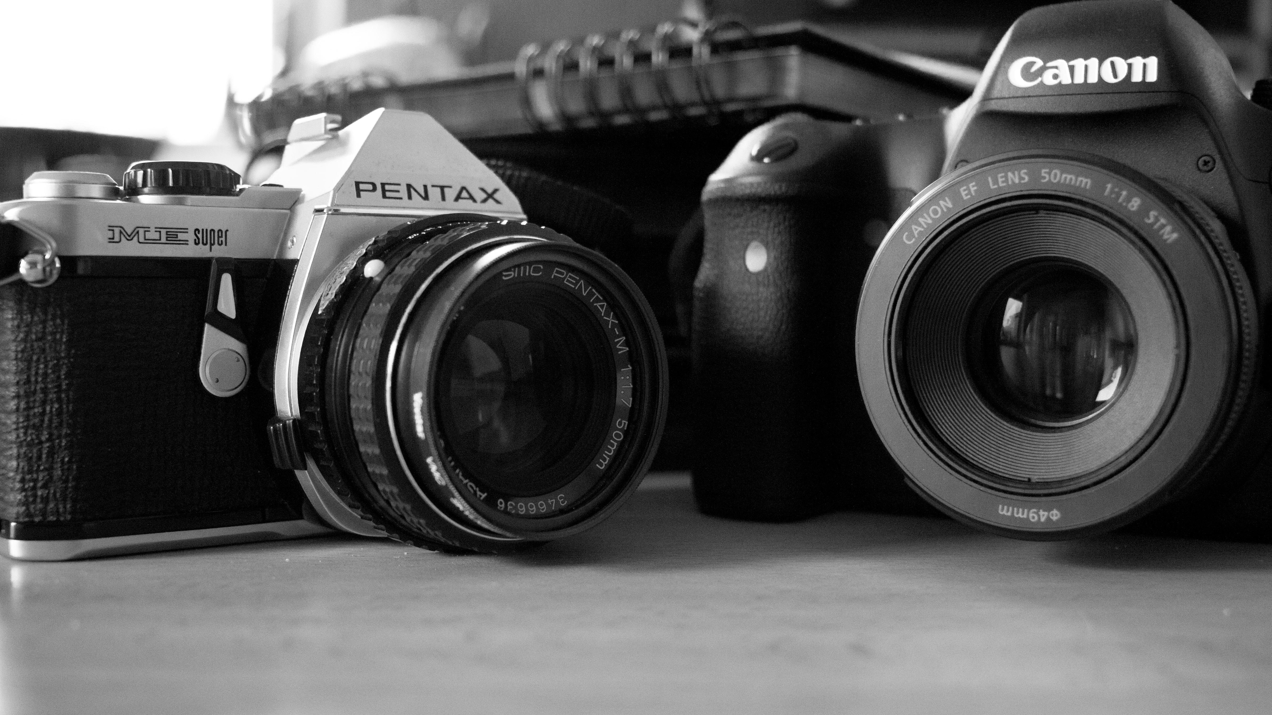 Illustration appareils photos